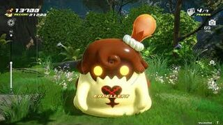 Kingdom Hearts III Mini-jeu Flan à l'orange