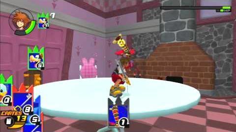 Kingdom Hearts Re Chain of Memories Combat contre le Maître des Tours