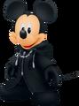 Roi Mickey (Manteau noir) KHII
