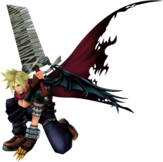 Cloud KH Dissidia Outfit