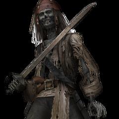 Jack Sparrow bajo la maldición de los medallones aztecas