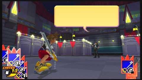 Kingdom Hearts Re Chain of Memories Combat contre Léon
