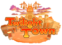 Twilight Town (Logo) KHIII