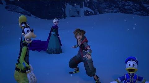 Clear Arrow/La batalla definitiva de Kingdom Hearts III se muestra en un nuevo tráiler