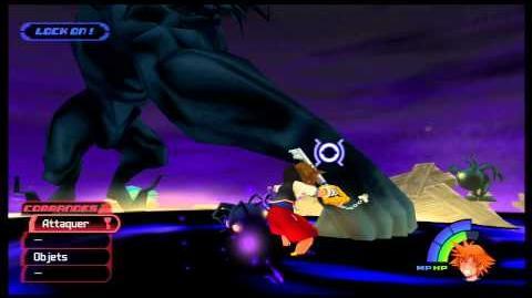 Kingdom Hearts -HD 1.5 ReMIX- Combat contre Darkside 2