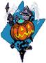 Naipe mundo (CoM) - Ciudad de Halloween