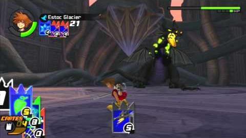 Kingdom Hearts Re Chain of Memories Combat contre Maléfique