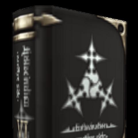 Libro Retribución en <i>Kingdom Hearts II</i>