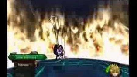 Kingdom Hearts II Roxas VS Axel