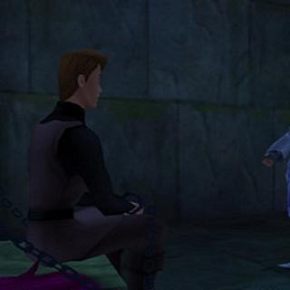 Aqua con Felipe en los calabozos