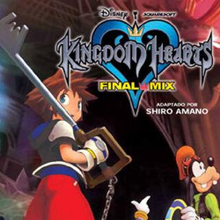 Cubierta española del volumen 3 del manga de <i>Kingdom Hearts Final Mix</i>