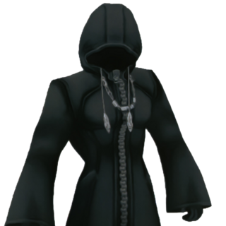 Joven Xehanort en <i>Kingdom Hearts Birth by Sleep</i>.