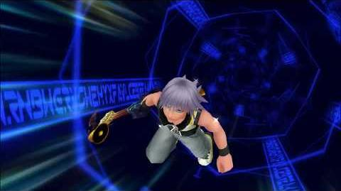 Kingdom Hearts 3D Dream Drop Distance HD Mode Transition Grille (Riku)