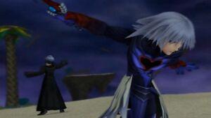 Riku acaba con Zexion