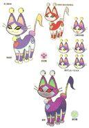 Concept Art Neko Cat