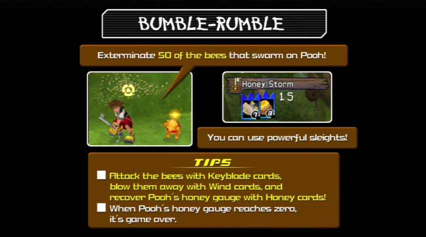 Bumble and bumble game