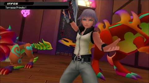 Kingdom Hearts 3D Dream Drop Distance HD Combat contre Primoko (Riku)