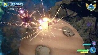 Kingdom Hearts III Expert Combat contre les Vers de l'espace