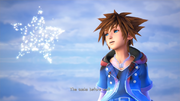 Sora Talks to Nameless Star KHIII