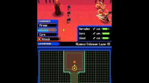Kingdom Hearts Re Coded Part 22 - Olympus Coliseum 7-7 - Layer 05 - Cerberus Hades