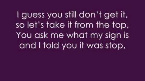 Victorious Take A Hint-Victoria Justice Feat. Liz Gillies Lyrics