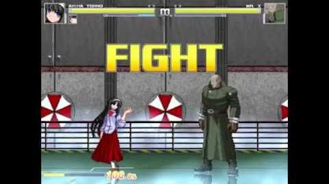 Rank 17 Giant Akiha Vs Rank 16 Mr. X