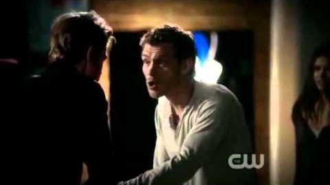 Vampire Diaries 3x05 - Klaus compels Stefan to turn his humanity off for good