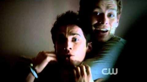 "The Vampire Diaries Klaus kills Tyler Rebekah meets Elena-""The Reckoning""-(3X05)"