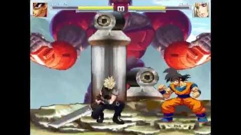 Goku Vs Cloud
