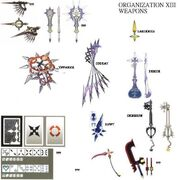 Weapons of New Organization XIII