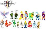 Kingdom hearts 3 teams 13 by tomyucho-d4wo78z