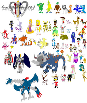 Kingdom hearts 3 summons by tomyucho-d3rer0x