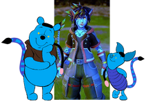 Sora, Pooh & Piglet (Pandora Version)