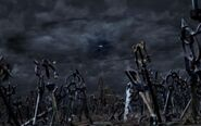Cementerio llaves espada