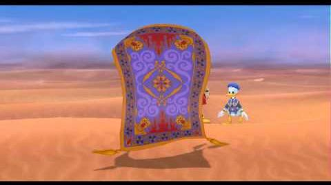 Let's play Kingdom Hearts Final Mix Parte 18 - Llegando a Agrabah