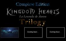 - Kingdom Hearts La Leyenda de Auron Trilogy Complete -