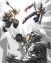 Battle against Xobb
