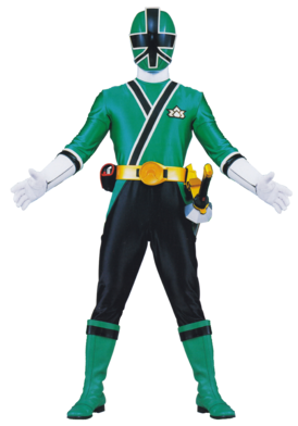 Shinken Green ~ Samurai Green Ranger