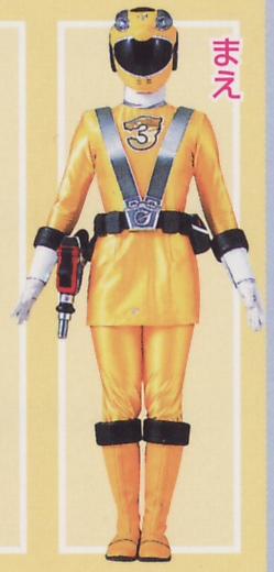 Go-On Yellow ~ RPM Yellow Ranger