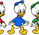 Huey, Dewey and Louie Ducks (KHDW)