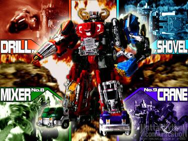 Super DaiBouken ~ Super Drivemax Megazord