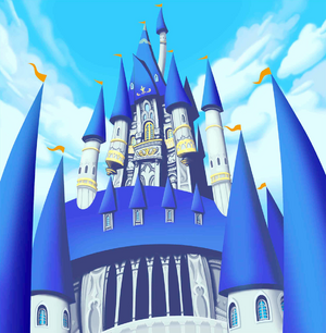 Disney Castle Exterior (Art)