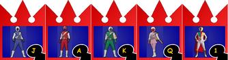 JAKQ Dengekitai ~ Power Rangers Shuffle
