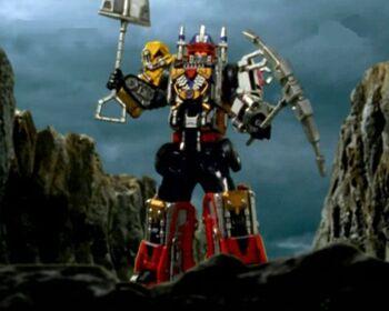 DaiBouken ~Drivemax Megazord