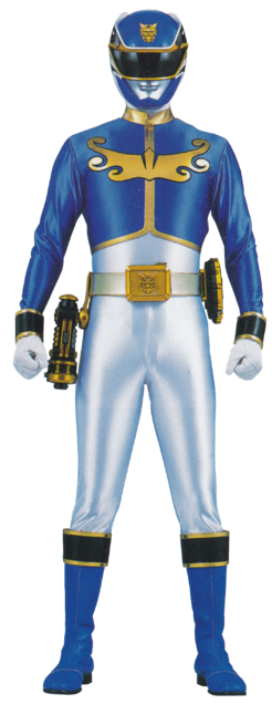 Gosei Blue ~ Miracle Force Blue Ranger
