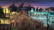 Artwork Radiator Springs Kingdom Hearts Fanon Wiki