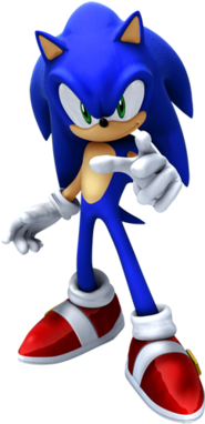 Sonic in Sonic the Hedgehog 2006