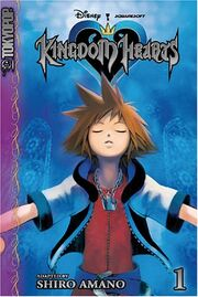 KingdomHearts-manga cover