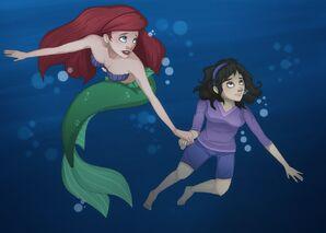 Willa and Ariel