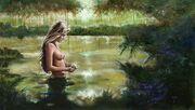 Lagoon nymph
